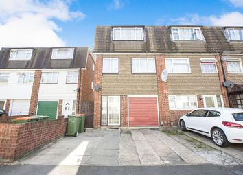 Thumbnail 3 bed terraced house for sale in Atkinson Road, London