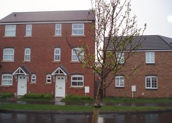 Thumbnail 3 bed town house to rent in Marlborough Road, Hadley, Telford