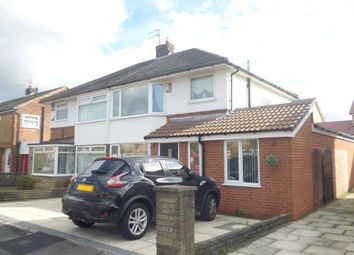 Thumbnail 3 bed semi-detached house for sale in Kendal Drive, Rainhill, Merseyside