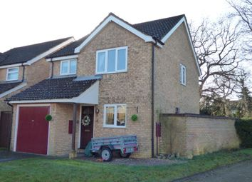Thumbnail 3 bed detached house for sale in Briardene Court, Totton