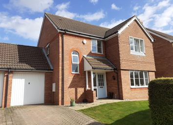 Thumbnail 3 bed detached house for sale in St Johns Drive, Corby Glen, Grantham