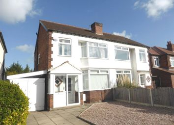 Thumbnail 3 bedroom semi-detached house to rent in Woodyear Road, Bromborough, Merseyside