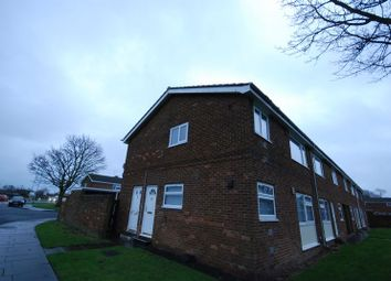 Thumbnail 1 bed flat for sale in Norfolk Close, Ashington