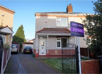 Thumbnail 2 bed semi-detached house for sale in Derwent Terrace, Mexborough