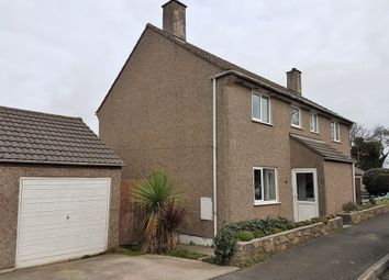 Thumbnail 3 bed semi-detached house for sale in Tregie, Newlyn, Penzance, Cornwall