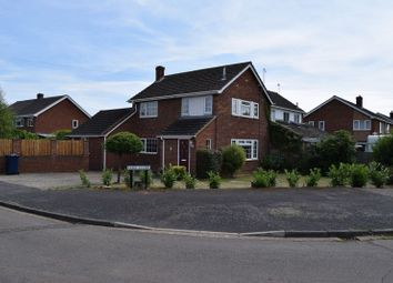 Thumbnail 3 bedroom detached house to rent in Park Close, Little Paxton, St. Neots