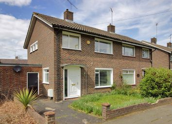 Thumbnail 3 bed semi-detached house for sale in Garrick Walk, Tilgate, Crawley, West Sussex