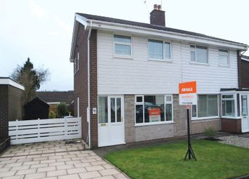 Thumbnail 3 bed semi-detached house for sale in Langland Drive, Blurton, Stoke-On-Trent