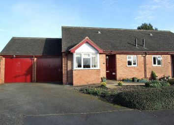 Thumbnail 2 bed bungalow for sale in Wallis Close, Thurcaston, Leicester