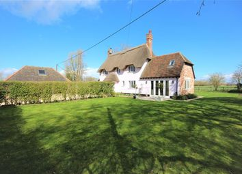 Thumbnail 4 bed detached house for sale in Compton Beauchamp, Swindon