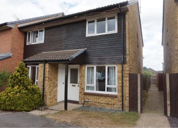 Thumbnail 2 bed end terrace house to rent in Binbrook Close, Reading