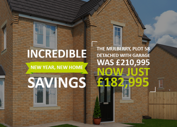 """Thumbnail 3 bed property for sale in """"The Mulberry At Sheraton Park"""" at Main Road, Dinnington, Newcastle Upon Tyne"""