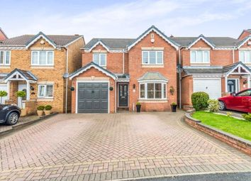 Thumbnail 4 bed detached house for sale in Wrekin Grove, Coppice Farm, Willenhall, West Midlands