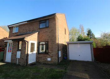 Thumbnail 2 bedroom semi-detached house for sale in Donnington, Bradville, Milton Keynes, Buckinghamshire