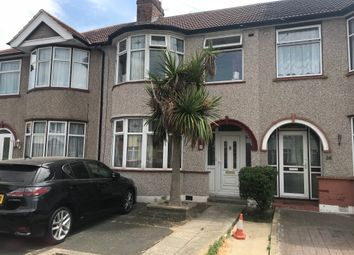 Thumbnail 4 bed terraced house to rent in Reynolds Avenue, Chadwell Heath, Romford