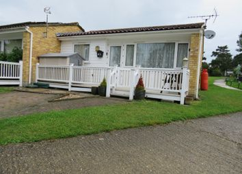 Thumbnail 2 bed mobile/park home for sale in Butt Lane, Burgh Castle, Great Yarmouth