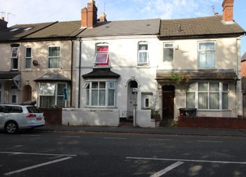 Thumbnail 3 bed terraced house for sale in Newhampton Road East, Wolverhampton