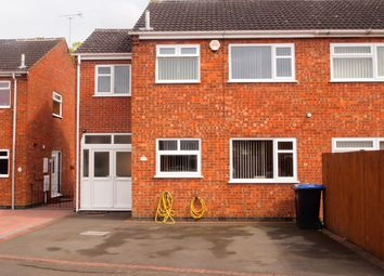 Thumbnail 3 bedroom semi-detached house for sale in Priest Meadow, Fleckney, Leicester