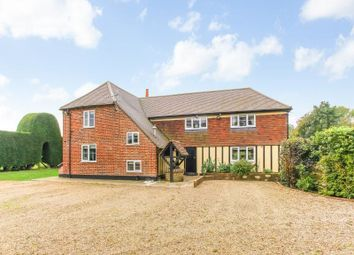 Thumbnail 5 bed detached house for sale in Ridge Row, Acrise, Folkestone