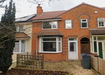3 bed terraced house to rent in Weoley Avenue, Selly Oak, Birmingham B29