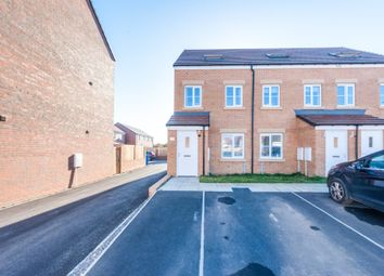 Thumbnail 3 bed semi-detached house for sale in Font Drive, Blyth