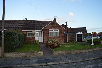 Thumbnail 2 bed semi-detached bungalow to rent in Wimborne Avenue, Thingwall, Wirral