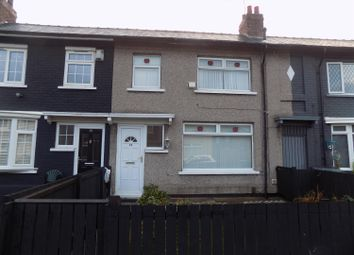 Thumbnail 3 bed terraced house to rent in Ferndale Avenue, Middlesbrough