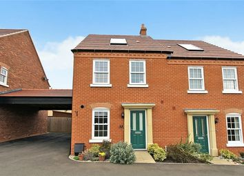 Thumbnail 3 bed semi-detached house for sale in Brocklehurst Road, Kempston, Bedfordshire