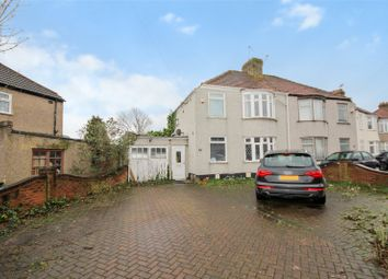 Thumbnail 3 bedroom semi-detached house for sale in Exeter Road, Welling, Kent