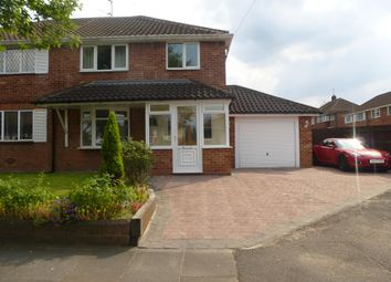 Thumbnail 3 bed property to rent in Cherry Tree Avenue, Walsall