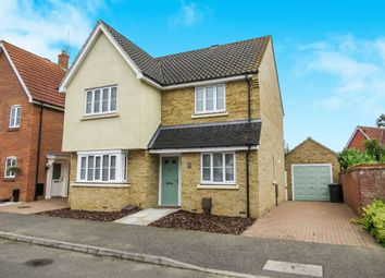 Thumbnail 4 bed detached house for sale in Landseer Drive, Downham Market