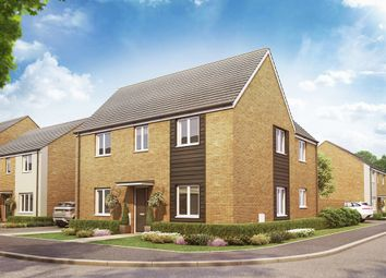 "Thumbnail 4 bed detached house for sale in ""The Oundle "" at Christie Drive, Off Hinchingbrooke Park Road, Huntingdon"