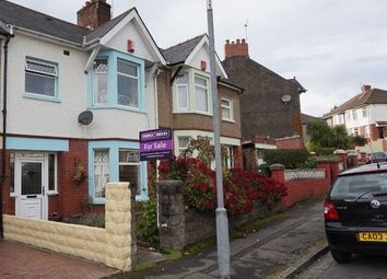 Thumbnail 3 bed terraced house for sale in Fairwater Grove East, Llandaff