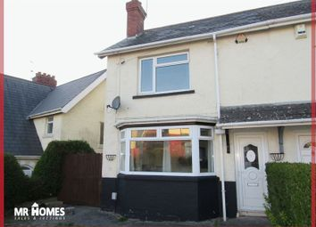 Thumbnail 2 bedroom semi-detached house for sale in Mostyn Road, Cardiff
