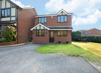 Thumbnail 3 bed detached house for sale in Silverstone Crescent, Packmoor, Stoke-On-Trent