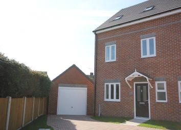 Thumbnail 4 bed semi-detached house for sale in Kippling Close, Worksop S810