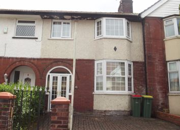 Thumbnail 3 bed terraced house to rent in Symonds Road, Fulwood, Preston