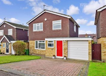 Thumbnail 3 bed detached house for sale in Fremlins Road, Bearsted, Maidstone, Kent