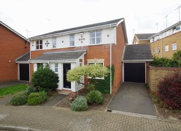 Thumbnail 3 bed semi-detached house for sale in Sara Crescent, Greenhithe