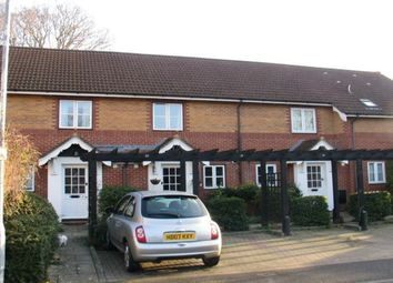 Thumbnail 2 bed terraced house to rent in Vicarage Gardens, Hordle, Lymington