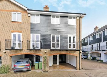Thumbnail 3 bed end terrace house for sale in Harvest Lane, Thames Ditton