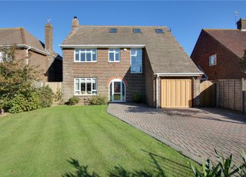 Thumbnail 4 bed detached house for sale in Chelwood Avenue, Goring By Sea, Worthing, West Sussex