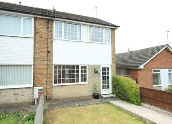 Thumbnail 3 bed semi-detached house to rent in Lawrence Avenue, Awsworth, Nottinghamshire