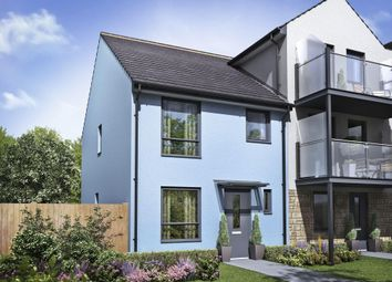 "Thumbnail 3 bed semi-detached house for sale in ""Barwick"" at Sunnyside, Boringdon Road, Turnchapel, Plymouth"