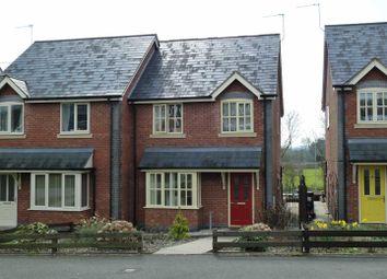 Thumbnail 3 bed semi-detached house to rent in Dyffryn Foel, Llansantffraid