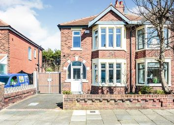 Thumbnail 3 bed semi-detached house for sale in Ferndale Avenue, Blackpool, Lancashire, England