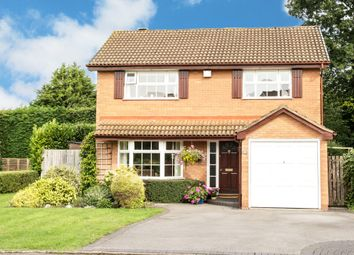 Thumbnail 4 bed detached house for sale in Tyberry Close, Shirley, Solihull