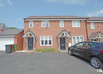 Thumbnail 2 bed end terrace house for sale in Noble Way, Cheswick Green, Shirley
