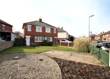 Thumbnail 2 bed semi-detached house for sale in Broomhill Walk, Knottingley, West Yorkshire