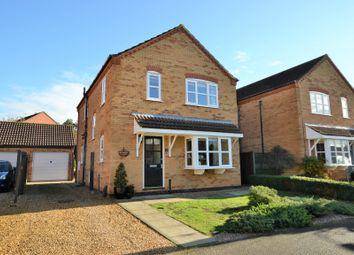Thumbnail 4 bed detached house for sale in Kerrich Close, Dersingham, King's Lynn